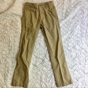 Gap boys' khaki chino pants, 12 slim